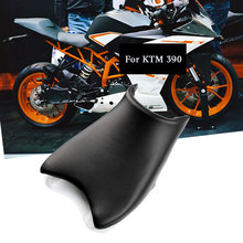 For KTM 390 Series Front Seat Cover Cushion Leather Pillow RC 390 Motorcycle Rider Driver Seat skyrc sr5 1 4 scale super rider rc motorcycle tr