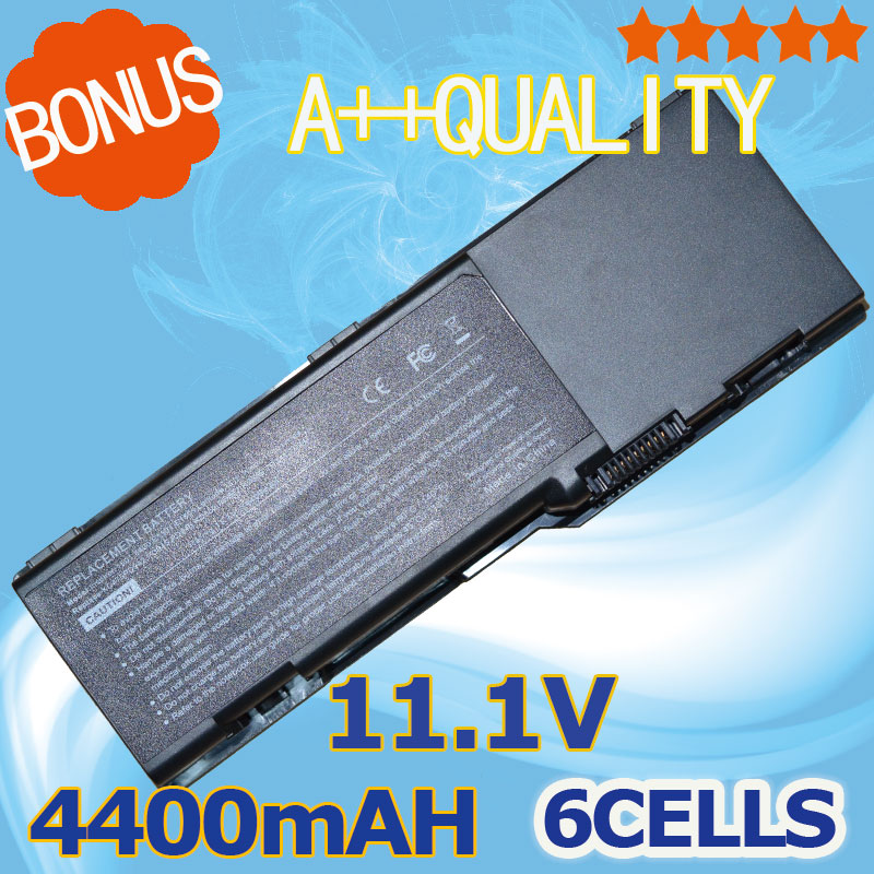 4400mAh Laptop <font><b>Battery</b></font> for <font><b>Dell</b></font> <font><b>Inspiron</b></font> <font><b>1501</b></font> 6400 E1505 Latitude 131L for Vostro 1000 312-0461 451-10338 RD859 GD761 UD267 image