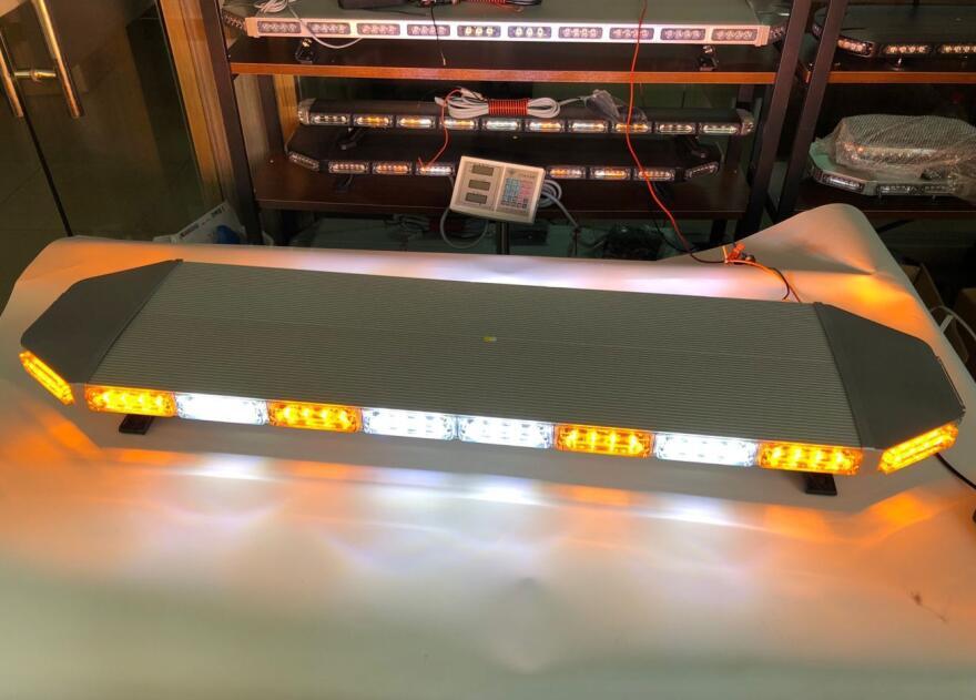 Vyšší hvězda, 120cm 88W LED nouzový světelný panel, výstražná lišta pro hasičský vůz policejní ambulance, vodotěsný, ECE R65