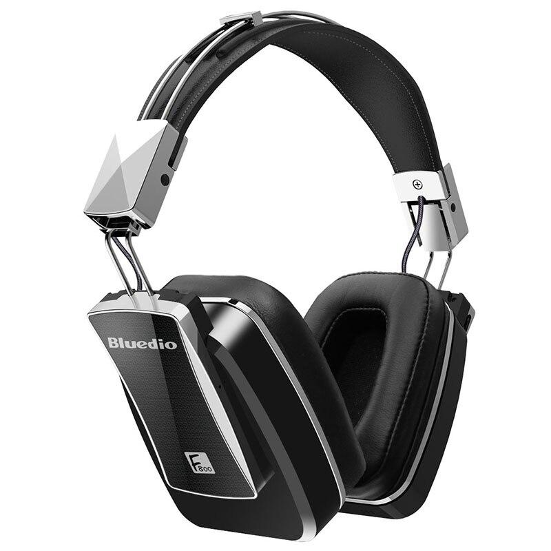 bilder für Ohrhörer Original Bluedio F800 Active Noise Cancelling Bluetooth Kopfhörer Junior Anc Edition Um Das Ohr Headset (schwarz)