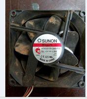 Original ME80251VX Q060 F99 12V 1.9W 8025 3wire 8CM cooling fan