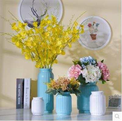 Online Shop Simple Ceramic Vases Home Decor Items Wedding Decoration Gifts