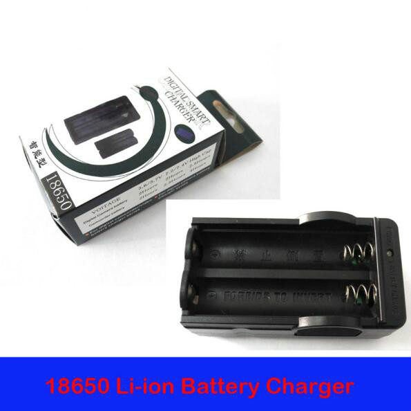 Quick charge 18650 Li-ion Rechargeable Battery AC Charger Adapter EU AU UK Plug charger bateria 18650 battery charger(1 pc)