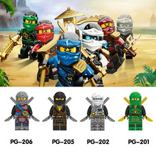 Ninja Kai Jay Zane Cole Lloyd Carmadon With Tornado Motorcycle Compatible With LegoINGlys Ninjagoes figures Building Block Toys(China)