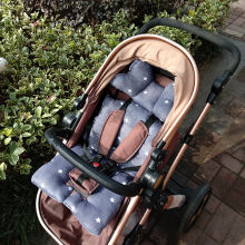 4 сезона толстая хлопковая детская коляска высокий стул подушка