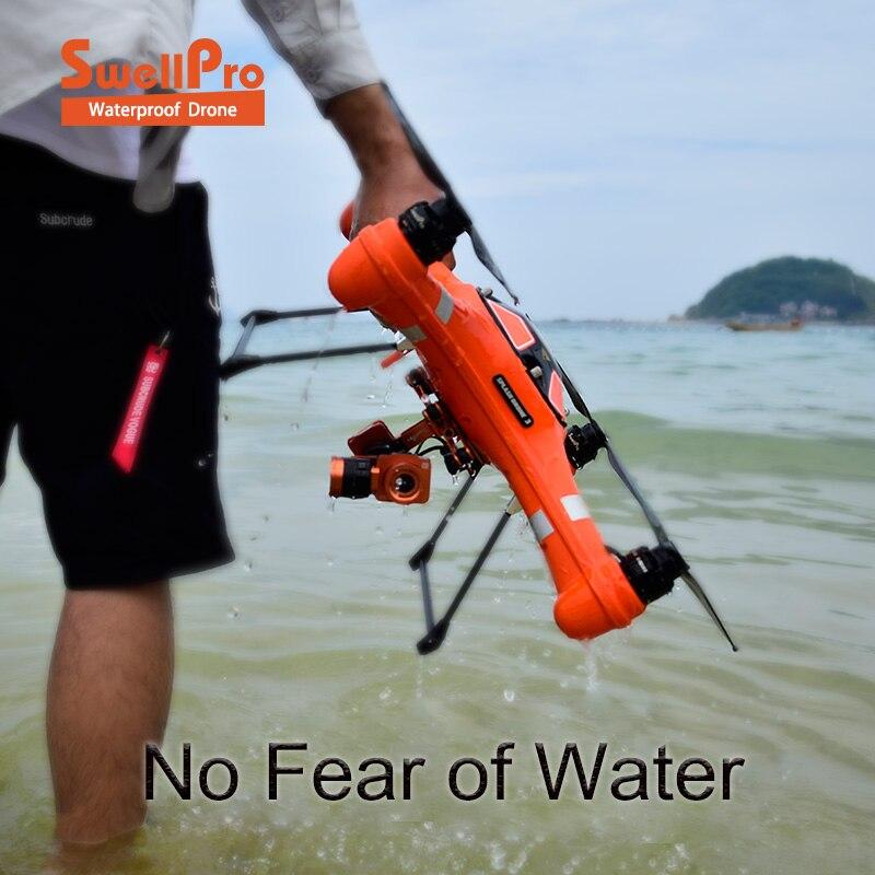 SwellPro Drone 3 IP67 Водонепроницаемый с 4 К Камера и монитор Авто Quadcopter и 1/2,3 дюймов CMOS, число эффективных пикселей 1400 Вт