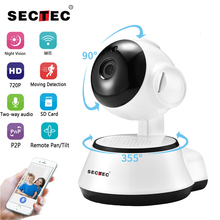 SECTEC IP Camera Wireless 720P Home Security Surveillance CCTV Network Camera WIFI Night Vision Two Way