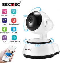 SECTEC IP Camera Wireless 720P Home Security Surveillance CCTV font b Network b font Camera Night