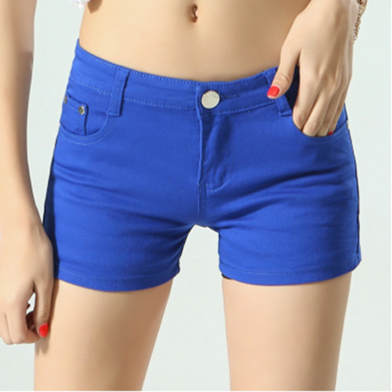 Women Shorts Summer 2019 Casual Elastic Waist Elegant Female Beach Cotton Shorts For Female Pantalon Plus Size Mujer shorts N749