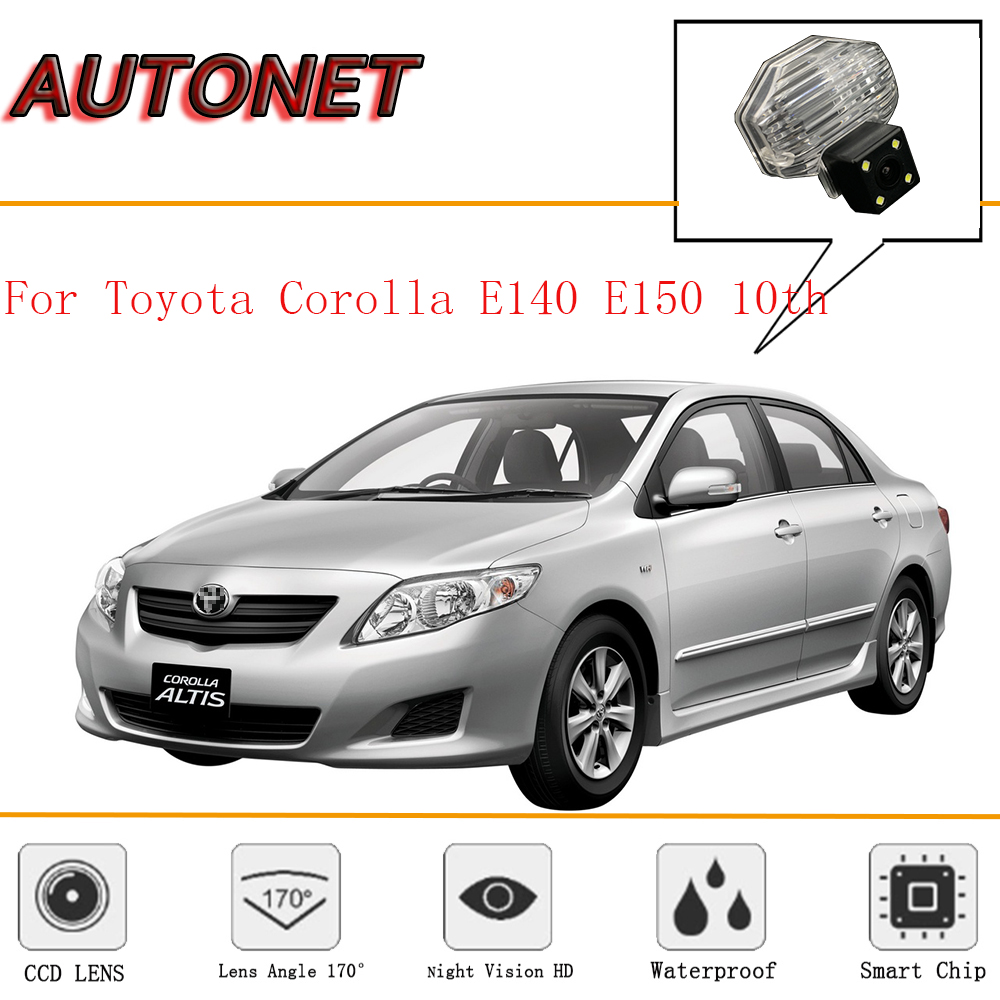 AUTONET Rear View camera For <font><b>Toyota</b></font> <font><b>Corolla</b></font> E140 <font><b>E150</b></font> 10th/CCD/Night Vision/Reverse Camera/Backup Camera/license plate camera image