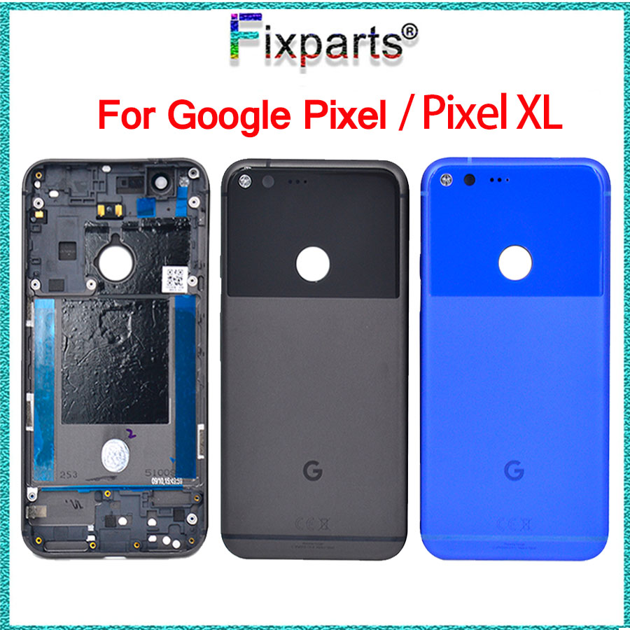Methodical 5.5for Htc Google Pixel Xl Battery Cover Door Back Housing Rear Case 5.0 For Google Pixel Battery Door Replacement Parts Buy One Get One Free Jewelry & Watches