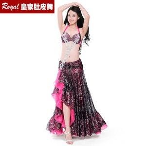 Image 1 - Hot top grade belly dance suit womens belly dance costume fashion belly dance wear clothes belly dancing BRA skirt 8711 Yasmin