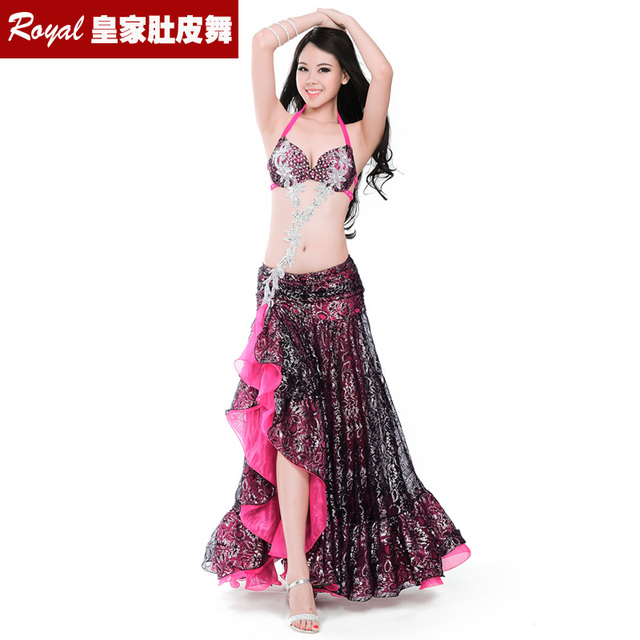 Hot top grade belly dance suit womens belly dance costume fashion belly dance wear clothes belly dancing BRA skirt 8711 Yasmin
