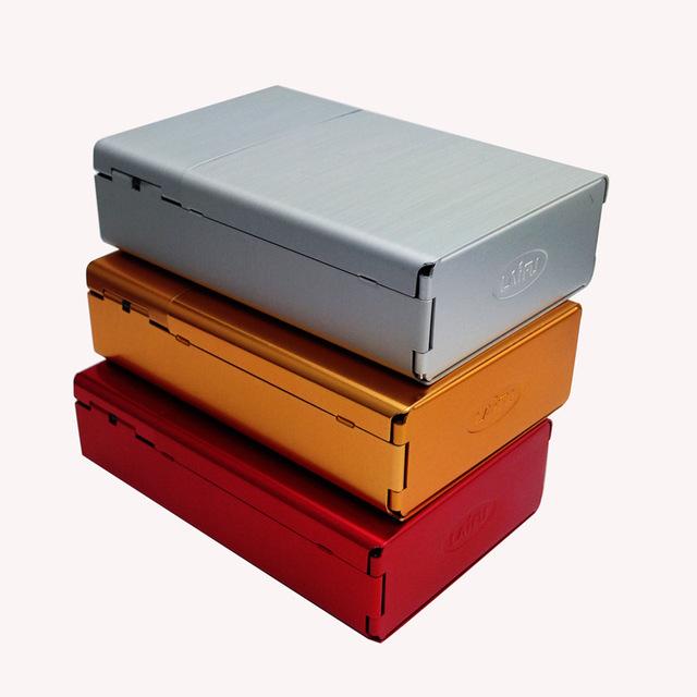 COSY MOMENTSide Open Cigarette Case 20pcs Packing Aluminum Cigarette Case Tobacco Holder Box For Men etui cigarettes boite YJ125