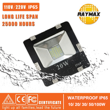 Waterproof IP65 LED Flood Light 10w 20w 30w 50w 100w 150w 200w Outdoor Flood Light 110v 220v Square Garden Spotlights