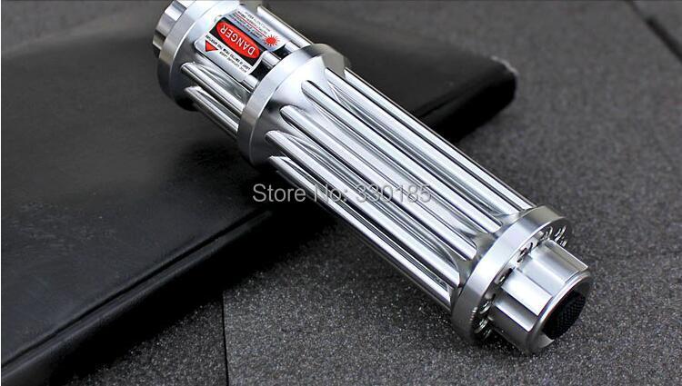 5000mw 650nm RED Laser Pointer Light Pen Lazer Beam High Power focus burn match lit cigarettes+5 caps+Glasses+charger+gift box