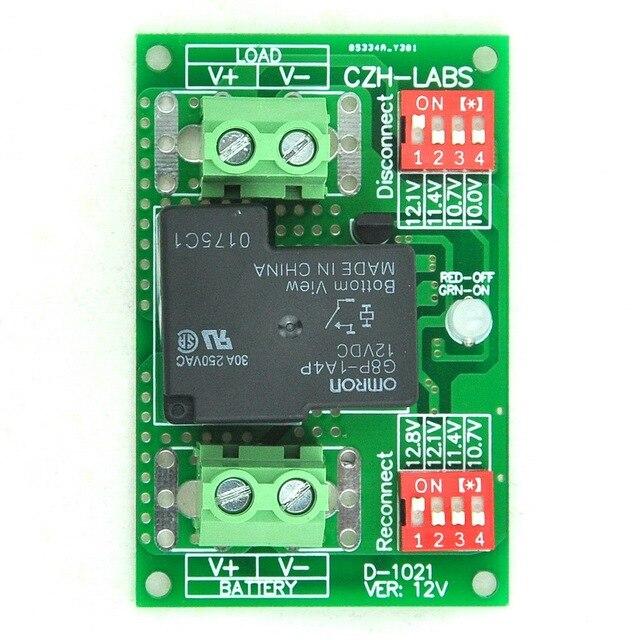 Низкого Напряжения Отключите Модуль LVD, 12 В 30А, защитить/Продлить Срок Службы Батареи.
