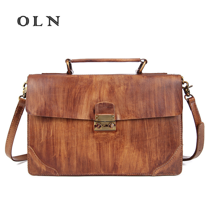 OLN 2018 Luxury Women Genuine Leather Tote Handbag Famous Designer Brand Messenger Bags For Ladies Casual Crossbody Shoulder Bag стоимость