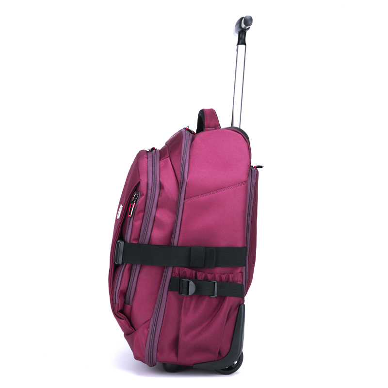 Men Oxford Travel trolley Luggage bags Travel trolley Rolling bags Women  wheeled Backpacks Business luggage suitcase on wheels