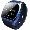 Второе поколение смарт часы bluetooth led музыка qq открытый мужчины электронные часы m26s