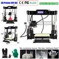 Zrprinting w5 наборы 3D принтеров Reprap i3 Набор DIY наборы 3D печатная машина с нитью для повторной печати