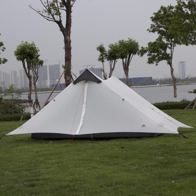 3f ul gear 2017 new arrival 2 person 1 Person ultralight c&ing tent NON POLE barraca & 3f ul gear 2017 new arrival 2 person 1 Person ultralight camping ...