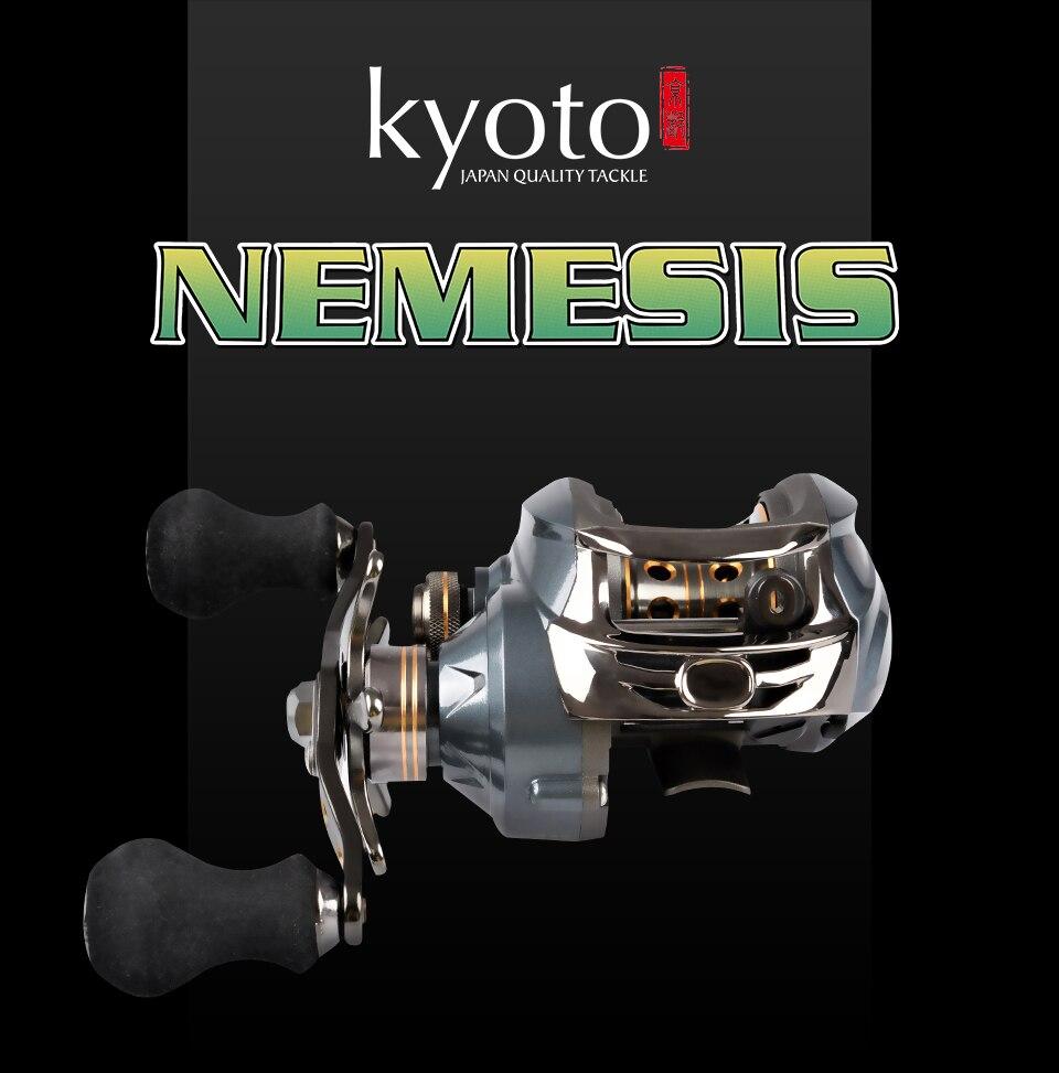 Kyoto nemesis 120la carretel de pesca carretel