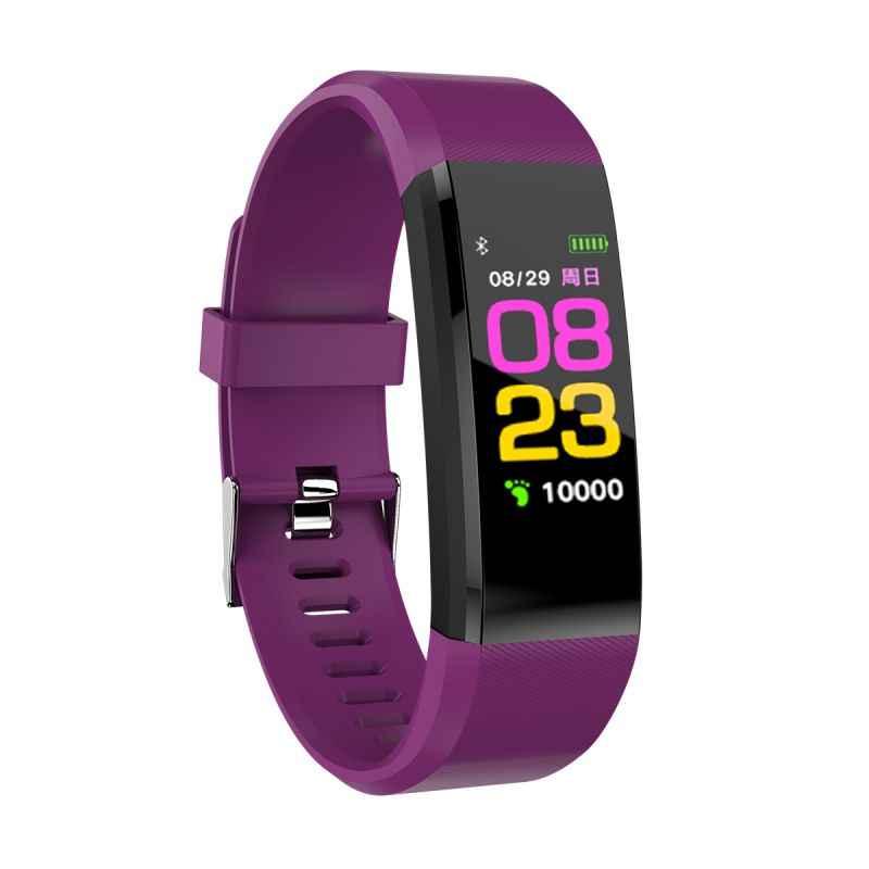 Nouveau équipement de Fitness en plein air montre-bracelet unisexe moniteur de fréquence cardiaque pression artérielle Tracker Smartwatch pour le Sport