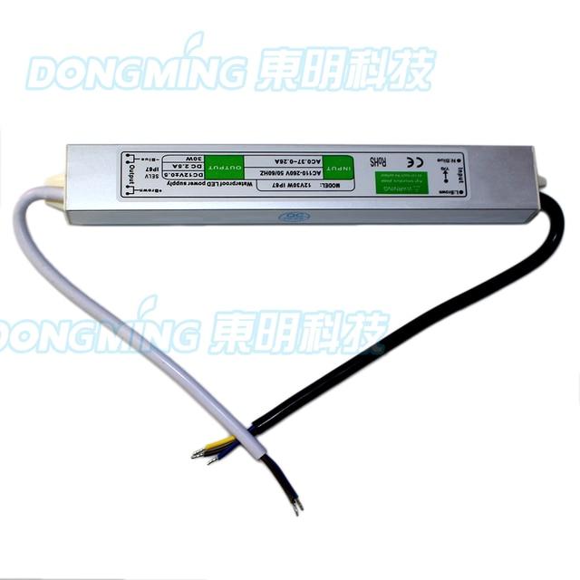 Led driver dc20-36v 30w 900ma led power supply floodlight driver.