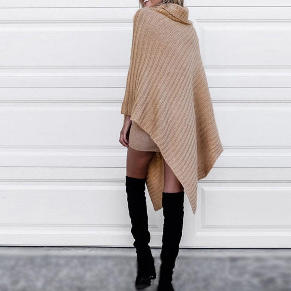 2017 nuevo estilo de diseño de moda bufanda mujeres cuello alto ...