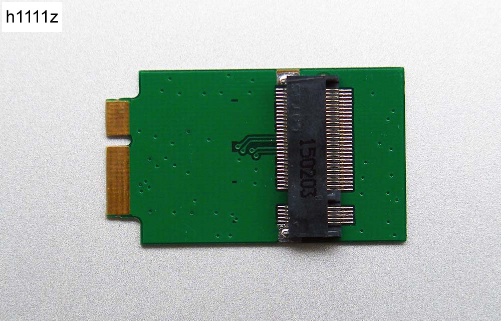 H1111Z Add On Card M.2 NGFF SSD To 12+6Pin Adapter Convert Card Expansion Card For MacBook Air 2010 2011 A1370 A1369 MC503 MC505