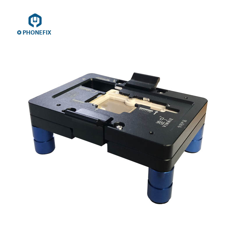 WL iSocket Jig for iPhone X PCB Motherboard Test Holder Fast Folded Two Halves Logic Board Testing Fixture Without Disassembly - 3