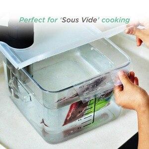 Image 5 - Sacchetti sottovuoto REELANX 2 rotoli 28*500cm per confezionatrice sottovuoto per alimenti