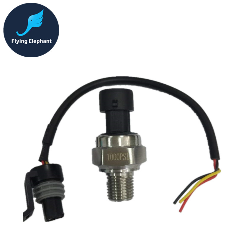 Hydraulic Pressure Transmitter Air Compressor Pressure Sensor 0-15PSI,0-30PSI, 1000PSI~2500PSI NPT1/8'' OR NPT1/4'' Thread