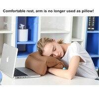 1 Pcs Air Inflatable Sleep Nap Pillow Neck Body Pillow Seat Cushion Home Office Airplane Car