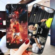 Yinuoda Phone Case For Van de Beek Huawei P9 lite P10 DIY Matthijs Ligt P8 2017 mate 10 P30 NOVA