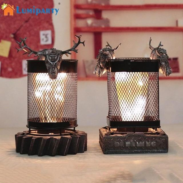 Lumiparty Unique Animal Modeling Night Light Exquisite Desk Lamp Valentine S Day Gift Home Hotel Decoration