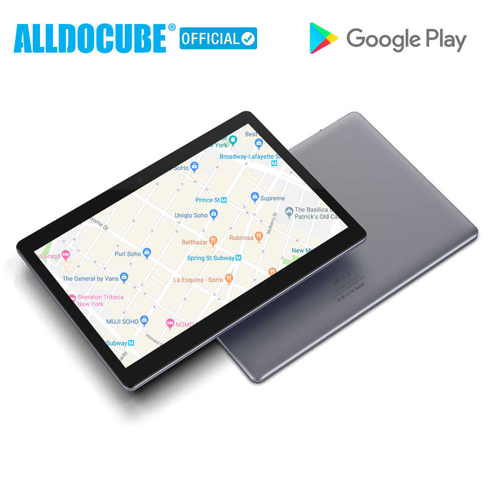 ALLDOCUBE M5XS 10.1 polegada 4G LTE Tablet Android MTKX27 10 Núcleo Telefone Chamando Tablets PC 1920*1200 FHD IPS 32 3GB de RAM GB ROM GPS