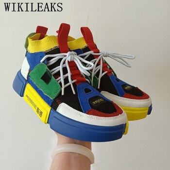 ec565ae31f1 Zapatos de marca de diseñador para hombre, zapatillas de deporte ligeras,  zapatos casuales de malla transpirables, zapatillas de moda para hombre, ...