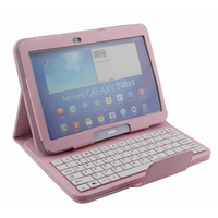 Universal 10 1 Tablet PC Cover Removable For Samsung Galaxy Tab 3 P5200 Bluetooth Keyboard Stand