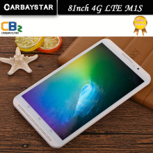 M1s carbaystar octa core de 8 pulgadas doble tarjeta sim tablet pc 4g lte teléfono móvil de metal android tablet pc RAM 4 GB ROM 64 GB 8 MP IPS