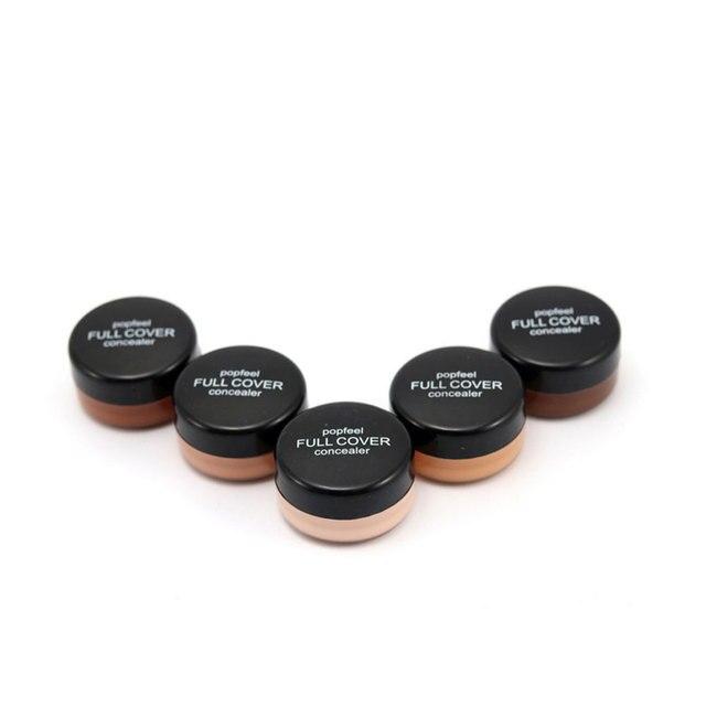 Base Concealer Cream Face Cover Blemish Hide Dark Spot Blemish Eye Dark Circles Lip Contour Makeup Liquid Foundation Cosmetic