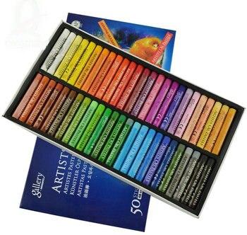 Akcesoria malarskie narkotyków Kredki 50 kolorów pastele olejne ARTYSTÓW dla dzieci bezpłatny dziecko obraz olejny trzymać mopy Farby Przez numer Pe