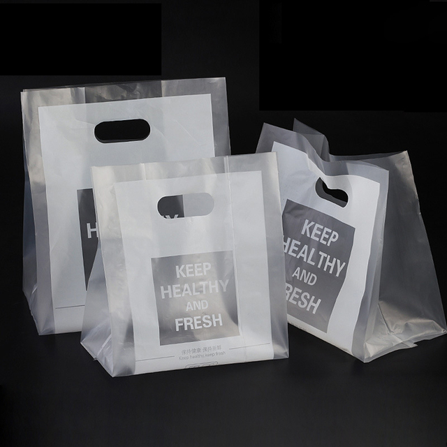 50pcs Disposable Food Ng Bag Dessert Cake Bread Takeaway Handbags Baking Tools One