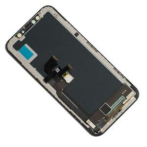 Image 5 - TFT y OLED Lcd para iphone X de Apple pantalla lcd pantalla táctil digitalizador reemplazo montaje piezas de repuesto negro