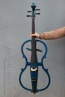 4 4 New Electric Cello White Blue Black Yellow Solid Wood
