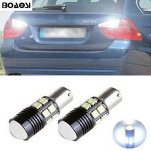 BOAOSI 2x Car 1156 BA15S LED 360 degree Rear Reversing Tail Light Bulbs for BMW 3/5 SERIES E30 E36 E46 E34 X3 X5 E53 E70 Z3 Z4