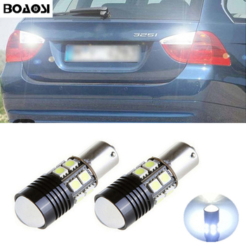 BOAOSI 2x Car 1156 BA15S LED 360 degree Rear Reversing Tail Light Bulbs for BMW 3/5 SERIES E30 E36 E46 E34 X3 X5 E53 E70 Z3 Z4 image