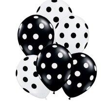30pcs Ladybug Dot balloons children Toys Black White Red wedding birthday party decorations Globos Baby shower