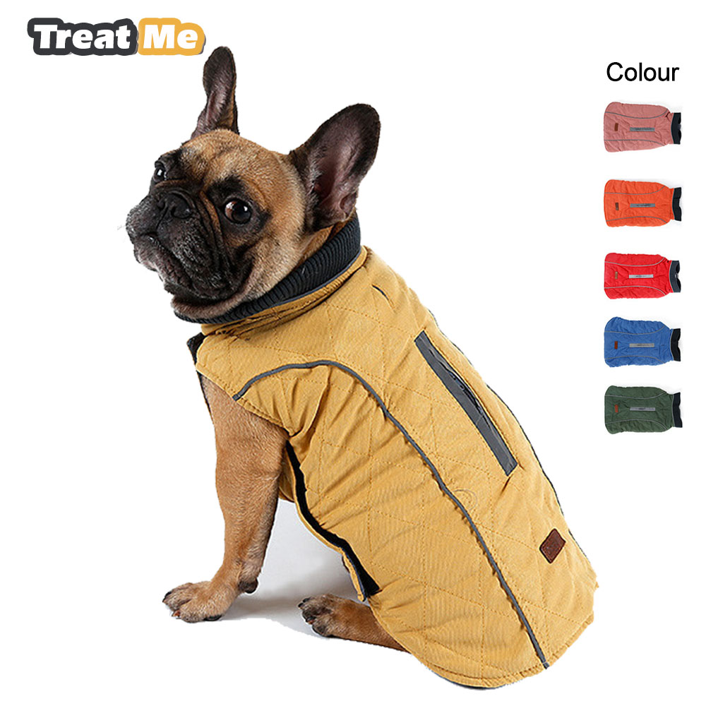 Dog Clothes Jacket Waterproof Dogs Coat Winter Dog Pet